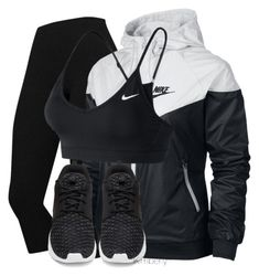 """""""Untitled #1198"""" by whokd ❤ liked on Polyvore featuring NIKE"""