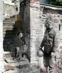 Ghosts of war - An absolutely terrific and moving photo project that juxtaposes current day photographs of Europe with WWII photographs of the same locations.
