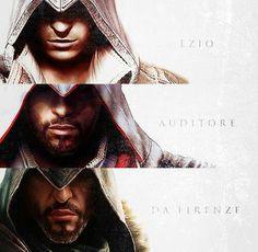 Happy 554th birthday Ezio Auditore Da Firenze - 06/24/13