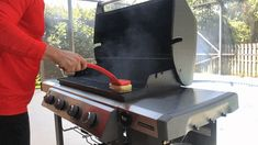 Grill Rescue Checkout I Grill, Clean Grill, Grill Grates, Grilling, Grill Brush, Best Bbq, Wipe Away, Cooking Gadgets, Best Sites