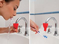 Tapi Fountain rubber tap