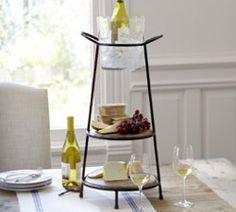 Vineyard Elevated Serve Stand