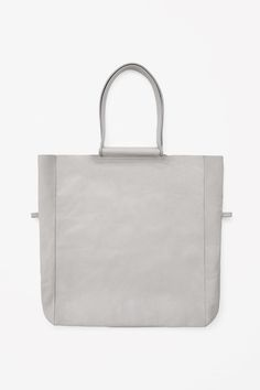 COS | Soft leather tote | Architect's Fashion