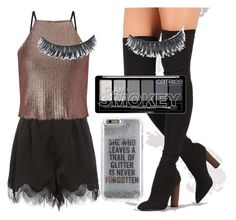 """Untitled #200"" by perlahak on Polyvore featuring Miss Selfridge and Agent 18"