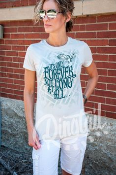 It's Only Forever. Women's Labyrinth, Underground, Maze, David Bowie, Owl t-shirt in Silver