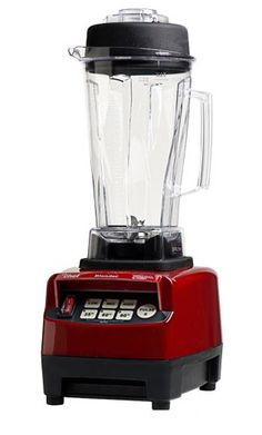 Commercial quality high performance blender for smoothies, nut butters, milling flour, frozen dessert, hot soup & more. 10 year warranty on motor. <br />