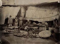 A Native Juju Shop Lagos. Skulls of Monkeys & skins of Various Animals are used as Juju Worship. | by Thomas Fisher Rare Book Library, UofT