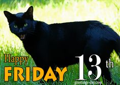 Happy Friday the 13 th - Free Cards, Animated Pics and Messages. #EverydayEcards, #Friday #Friday13 http://greetings-day.com/happy-friday-the-13-th-free-cards-animated-pics-and-messages.html