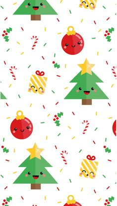 Christmas iPhone wallpaper — Danielle Mudd