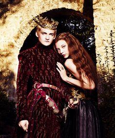 Joffrey Baratheon & Margaery Tyrell - game-of-thrones Fan Art