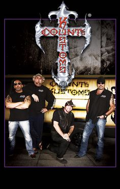 """Las Vegas Custom Hot Rods & Choppers - Count's Kustoms - As Seen on History Channel's """"Counting Cars""""."""