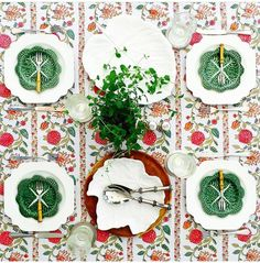 table cloth Modern Bohemian by Peacocks and Paisleys, lovely table setting too #tablesetting #tablescapes #tabledecor #dinnerparty