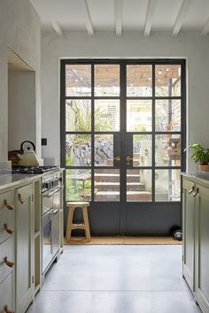 Interior french doors add a beautiful style and elegance to any room in your home. Glass French Doors, French Doors Patio, French Patio, Exterior French Doors, Double Patio Doors, Aluminium French Doors, Folding Patio Doors, Internal Double Doors, French Windows