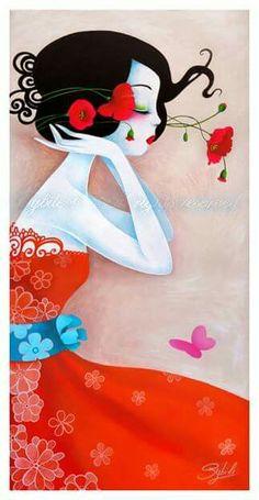 "Sybile Art ""Doux Coquelicot"""