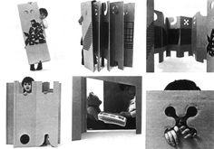 Material Design > ENZO MARI <br>Precorritore del design in cartone