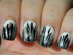 datyorkLOVES: Day 7- Black and White Nails Sugarland Inspired