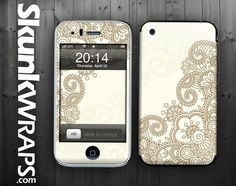 Apple iPhone 3G / 3GS Skin Cover Henna Glossy by skunkwraps, $9.95