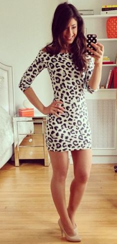 Cheetah dress <3