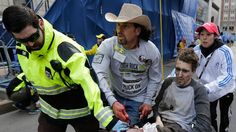 "Cowboy Hat-Wearing Hero at Boston Marathon Watches Carnage After Losing 2 Sons.~For Carlos Arredondo,the explosions he witnessed from the VIP stands @ the Boston Marathon were like terrible flashbacks.Carlos, Red Cross trained; stayed on to help.""I am covered w/blood & still @ the scene where the tragedy happened.I jumped the fence after the 1st explosions;all I saw was a puddle of blood & people w/lost limbs.I saw adults,much younger than myself;ladies,men,pretty much everyone was knocked…"