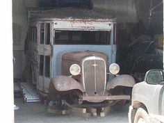 Chevrolet :  School Bus 1935 Chevy School Bus - http://www.usabarnfinds.com/archives/1029