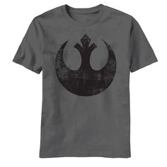 Whether you're a fan of the original trilogy or not, you're going to enjoy this Star Wars Old Rebel Mens T-Shirt. It's soft, subtle, simple and just plain awesome. - Ships only within the United State