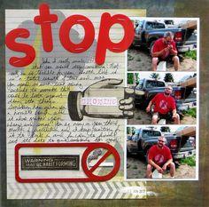Stop smoking by glenda tkalac, via Flickr