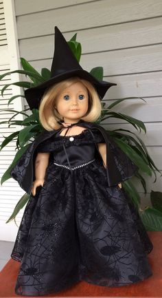 Halloween Witches Ballgown by BamaYellowBelles on Etsy
