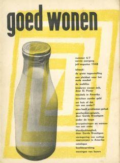 Dutch Magazine Goed wonen 1950's