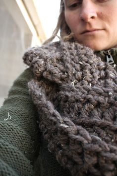 Warm and cozy. {Cowl Crochet Pattern-Free}