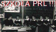 Szkoła w  PRL Communism, Jaba, Childhood, Comics, Movie Posters, Historia, Poland, History, Infancy