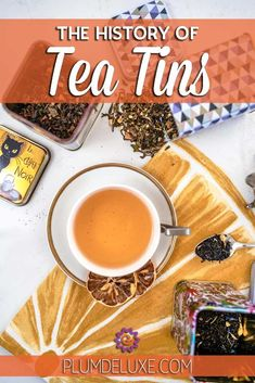 With so many different types of tea containers on the market for storing loose leaf tea, why is it that we treasure the tin of tea the most? #looseleaftea Different Types Of Tea, Tea Container, Tea Storage, Tea Tins, Spice Jars, Loose Leaf Tea, Ginger Jars, Simple Pleasures, Kitchen Gadgets