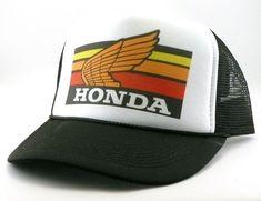 29058ce0 Honda motocross Trucker hat mesh hat snapback hat new adjustable pick color  Vintage style hat