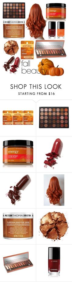 """Fall Beauty"" by clsing ❤ liked on Polyvore featuring beauty, Burt's Bees, Morphe, LAQA & Co., Peter Thomas Roth, Pat McGrath, Urban Decay and Chanel"