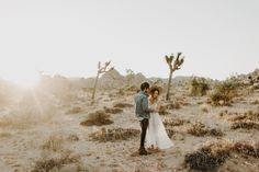 Joshua Tree Engagement Photos - Portland Wedding Photographer