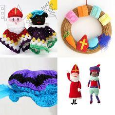 Crochet Toys, Free Crochet, Crochet Necklace, Crochet Patterns, Hats, Inspiration, Appliques, Deco, Flowers