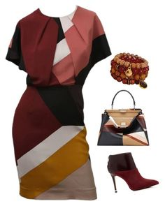 """""""Multi Color"""" by xoxogosipgirlxoxo ❤ liked on Polyvore featuring MICHAEL Michael Kors, Fendi, women's clothing, women, female, woman, misses and juniors"""