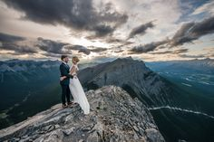 ELOPEMENT  Ha Ling wedding, Canmore, photo by one-edition.ca