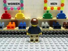 ▶ LEGO Stop Motion Animation Video about Shopping LEGO Style - YouTube