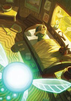 WAKE UP LINK by Ry-Spirit.deviantart.com on @deviantART