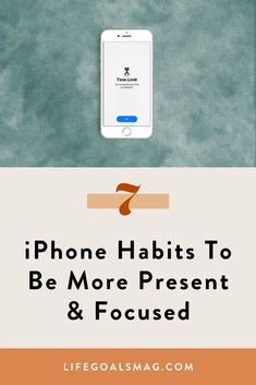 In an effort to boost my productivity and focus, I've been working on creating strategies that become natural to me after creating set-it-and-forget-it systems. Here are seven iPhone habits to help you focus during work hours. #focus #iphone Habits Of Successful People, Social Media Apps, Clear Your Mind, Good Habits, Willpower, Mindful Living, How To Stay Motivated, Best Self, Life Goals