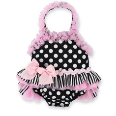 The cutest baby girl's swimsuit. <3
