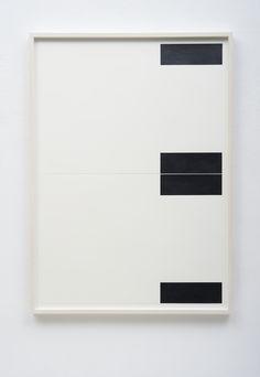 FRANK GERRITZ - Four Center Connection I, 2014 - Pencil on paper, 2 part, each 42 x 58.8 cm
