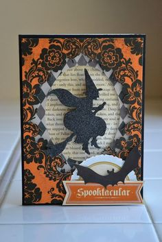 new Halloween line Spooktacular by Anna Griffin papers