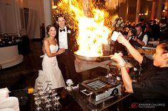Jennifer Childress Photography | Wedding | Atrium at the Curtis Center | Philadelphia, PA | Loews Hotel | Cescaphe Events Group | Beautiful Blooms | Cheekadee | Bride and Groom     www.jennchildress.com