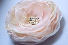 Wedding Bridal Hair Accessory Vintage Inspired Hair by BelleBlooms, $29.00
