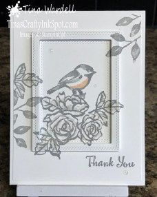Petal Palette Thank You · Tina Wardell~Stampin' Up! Independent Demonstrator