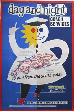 vintage express coach services posters - Google Search