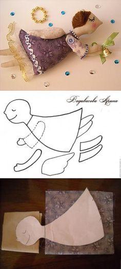 Como coser al Ángel que vuela - la Feria de los Maestros - la labor a mano, handmade
