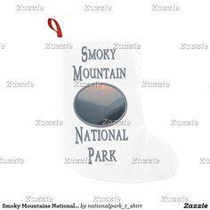 Smoky Mountains National Park Blue Sunset V Small Christmas Stocking