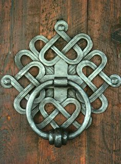 forged stair railings celtic design - Google Search